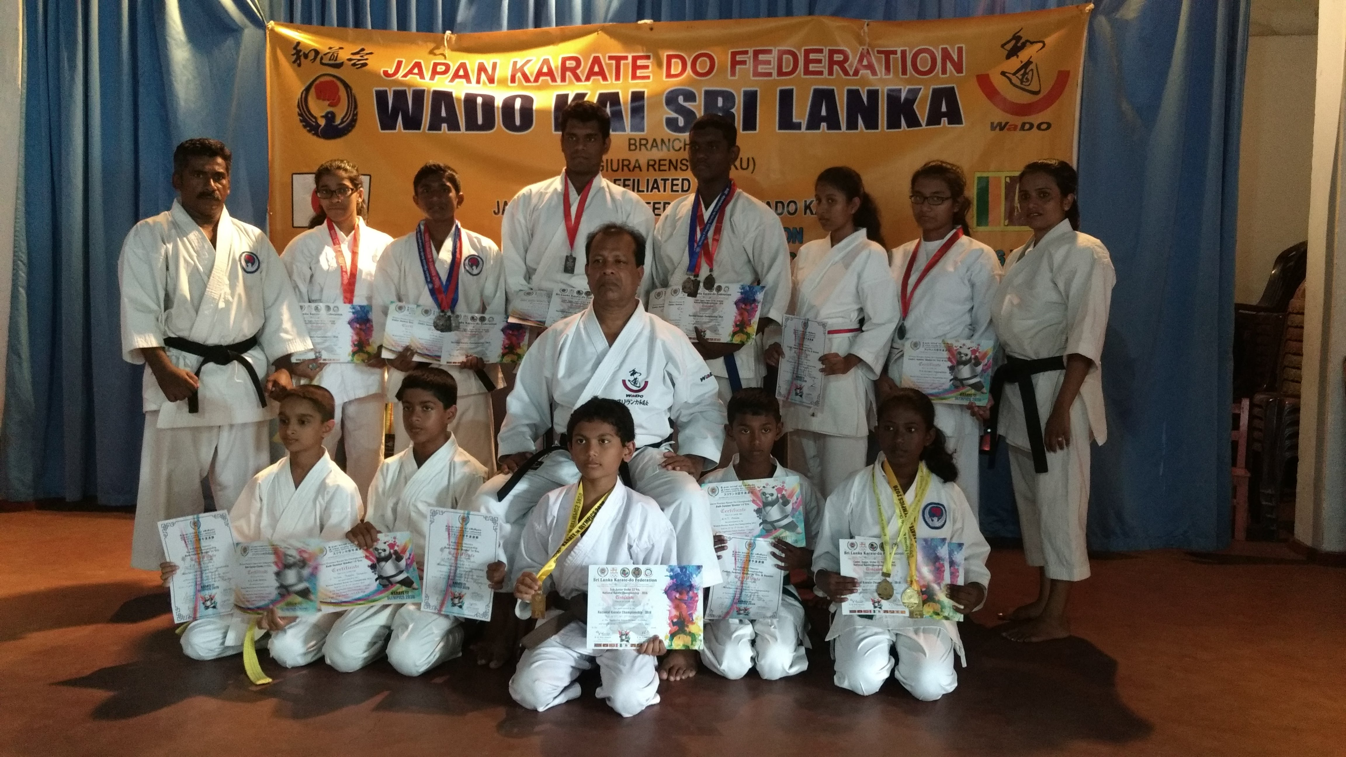 All Island Karate Champs